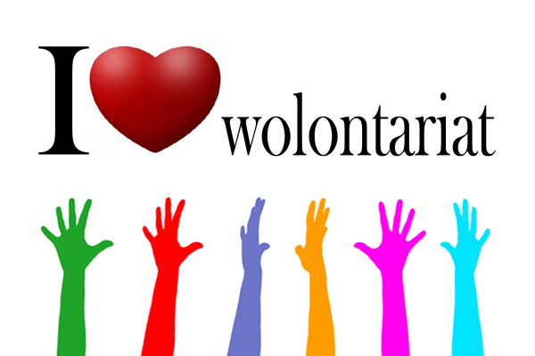 i love wolontariat